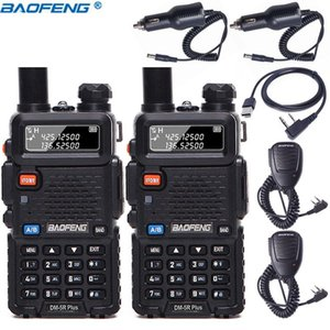 2PCS Baofeng DM-5R Plus Digital Walkie Talkie DMR Tier I&II Radio dual time slot dual Mode DMR Function Two Way Radio