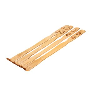 Hot Sale 1PCS 45cm Best Sale Long Wooden Body Stick Roller Back Scratcher Bamboo Massager Back Scratcher