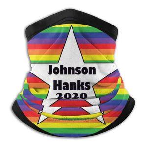 Johnson Hanks 2020 Scarf Bandana Neck Warmer Headband Cycling Mask The Dwayne Johnson Tom Hanks New President Presidential