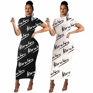Robes élégantes pour femmes élégantes Simplicité à manches longues à manches longues à manches longues modèle modèle Sexy Femmes Vêtements