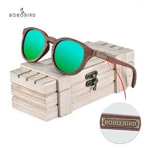 New Bobo Bird Bird Wood Sunglasses Polarizado UV400 Moda Mulheres Óculos Verão Viagem Grandes Presentes Top Marca Dropshipping1