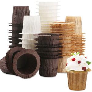 Caixas de papel Cupcake Muffin Cup 3 Cores 30 pçs / lote Copo Bolo Molde Bolo Papel Cups XD24267