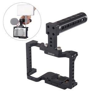 Фотография камеры клетки видео пленка фильма изготовление стабилизатора алюминиевый сплава крепление для обуви для A6500 / A6400 / A6300 / A6000 / Nex7