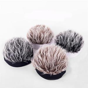 Peruk Bere Kapaklar Moda Amerikan Hip Hop Sokak Kafatası Bere Kap Retro Erkek Kadın Kış Şapkalar Siyah Beyaz Headgear 9 5 SS G2