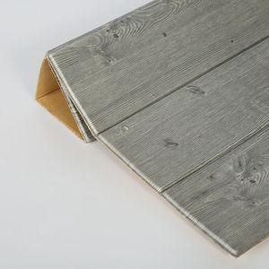 3D Wood Grain Waterproof Wall Sticker Self-adhesive Panels Decal 70*70cm
