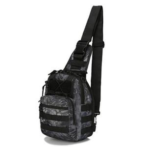 Outdoor army fan tactical shoulder bag hiking camping backpack 600D nylon waterproof climbing bag