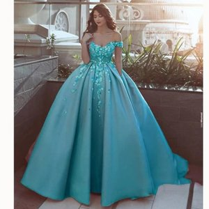 Ever Pretty Ball Gown Evening Dresses 2021 Lace Appliqes Off the Shoulder Dubai Caftan Mariage Evening Gown Cheap Evening Dress J1208