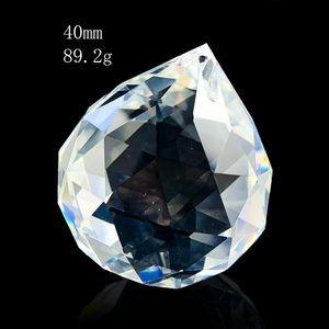 30 40 50 60 70mm Chandelier Crystals Ball Hanging Pendant Suncatcher Crystal Prisms Wedding Christmas Tree Decor Accessories Ball H bbyAGC