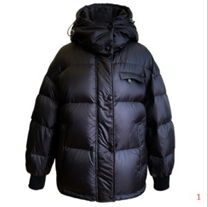Women Fashion Coat 2021 Casual Hooded Parkas Single Breasted Windbreaker Warm Winter Coat 90% Thick White Duck Down Jacket 3 Color S M