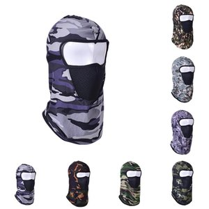Camouflage Full Face Scarf Cycling Hunting Army Bike Helmet Liner Tactical Cap