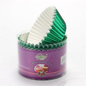Support de papier d'épaississement de 11 cm Berte d'aluminium Barrette PVC Boîte à gâteau emballé Soucoupe Pure Couleur Fashion avec haute qualité 4 5: 5: J1