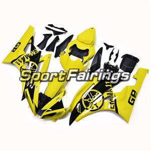 Sportbike ABS Bodywork For YAMAHA YZF600 2006 2007 R6 06 07 YZF 600 Complete Plastic Injection Fairings Kit Yellow Black