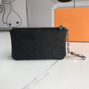 Bolsa de llaves Pochette Cles Cartera Diseñadores de lujo Anillo de llaves con cremallera Titular de la tarjeta de crédito Monedero Mini Bolsa de billetera Charm 11 * 7 cm