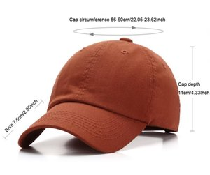 9 Color Plain Cotton Baseball Caps Adjustable Strapbacks For Adult Mens Wovens Curved Sports Hats Solid Golf Sun Visor Christmas Gifts