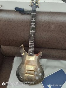 PRS Buckeye Burl Top Guitar '19 6 Cordas Guitarra Elétrica Feita em China, Alta Qualidade Com Frete Grátis!