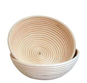Panier de pain Panier Indonésie Rattan Tissé Européenne Fermentation Bol Cuisine Outil de cuisson rond Dough Moule Ovale Tisser le tissage JLLKBQ