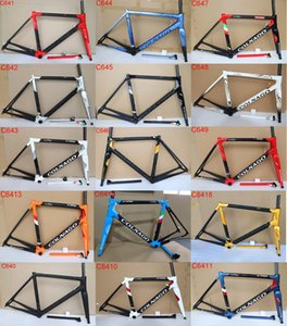 Nuovo Colnago C64 Carbon Road Frame Full Bicycle Bicycle Frame T1100 UD Carbon Road Bike Frame Dimensione 48 cm 50 cm 52cm 54 cm 56 cm
