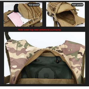 Outdoor cycling bag water bag backpack camouflage waterproof Oxford cloth small backpack outdoor portable tactical