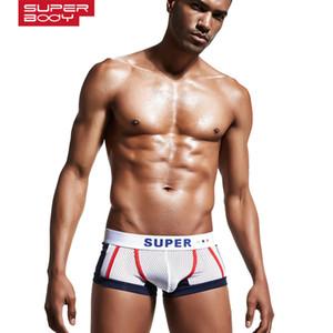 Superbody Boxers NOUVEAUX Boxers Mesh Sous-vêtements de confort respirant
