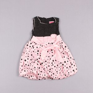 Clearance sale Polka Dot Jumper Skirt Pageant Dresses Flower Girl Dresses White Princess Dress Girls Party Dresses Z182