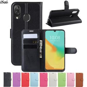 Brieftasche Flip Lederabdeckung für ZTE Blade V10 V 10 VITA Mobiltelefongehäuse TPU-Shell mit Kartenschlitzen