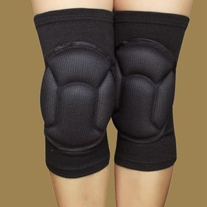 Protective Knee Pads Anti-Slip Collision Avoidance kneepad Brace Thick Sponge for Football Volleyball Extreme Sports