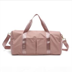 Large Capacity Travel Bag Gym Fitness Swim Sports Bag Separate Wet Clothing Shoe Pocket Shoulder Messenger Couple Handbag