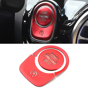 Car Accessories Start Stop Engine Button Trim Cover Frame Sticker Decoration for Mercedes-Benz A-Class W177 V177 2018-2021