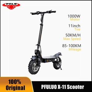Stock 2021 New pmbuluo x-11 inteligente scooter elétrico 1000w motor 11 polegadas 2 rodas placa hoverboard skate 50km / h max velocidade off-road
