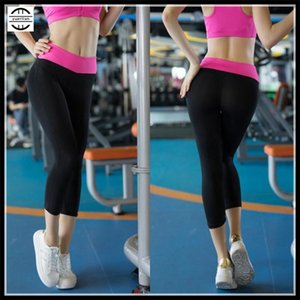 Women&Girl Shapers Sport Tight GYM Fitness Running Calf-Length Pants,Curves Slim Quick-dry Wicking Elastic YOGA Cropped Trousers