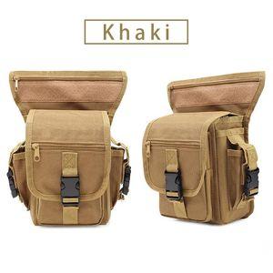 Multi-function Outdoor Sport camping hiking climbing waist bag Tactical Backpack Bag waist leg