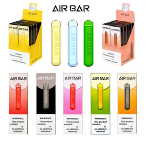 Air Bar Disposable Vape Pen 1.8ml Pod Cartridges 280mAh Battery Airbar 500 Puff LUX Vapor bar eCig Portable plus Starter Kit