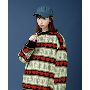 Snow and Heart Print Sweaters for Christmas Warm Clothing Womens 2021 Winter Fashion Trends Oversized Crew Neck Knitted Jumpers