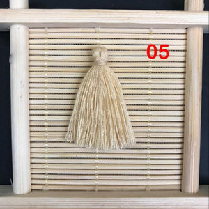 50pcs 3cm Mini Cotton Tassel Fringe Pendant Diy Small Tassel Trim Earring Jewelry Making Garments Curtains Sewing Accessories H jllSxV