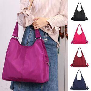 Hot Women Handbag Casual Large Shoulder Bag Nylon Tote Handbags Mummy Shopping Bags Waterproof
