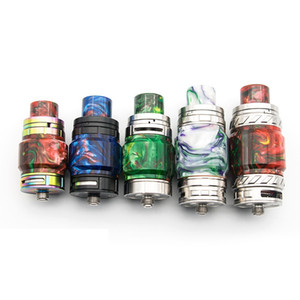 TFV8 X baby TFV12 Prince TFV8 Epoxy Holder Kit Replacement Exposy Resin Drip Tip and Tube Kit Fit Tank DHL Free