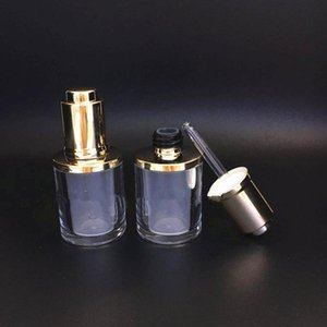 Makeup Tools 10ml Acrylic Dropper Bottle oil bottle Cosmetic Packaging Sample Display Container new