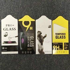 Cuadro de embalaje de película templado de punto Neutral General General Teléfono móvil Película protectora templada Cajas de embalaje de película de vidrio Embalaje de cartón al por mayor