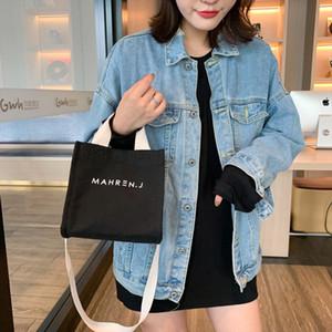 Hot Sale Fashion Women Solid Color Simple Style Canvas Shoulder Bag Messenger Bag handbags bags designer bolsa feminina