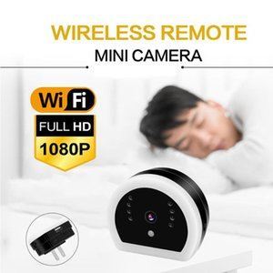 YII WiFi HD 1080P Mini Nanny Cam IP Camera USB Wall Charger Adapter IR Night Vision Security Video Camera with LED Light US Plug