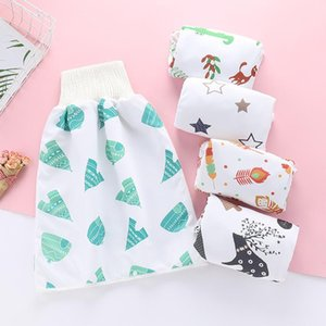 Baby Cloth Diapers Reusable Comfy Children Diaper Skirt Shorts 2 In 1 Waterproof Absorbent Shorts Boy Girl Training Skirt Diaper