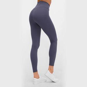 Classical 3.0 Elastic Tight Nude Leggings High Waist Yoga Pants Peach Hip Lift Leggings Sport Women Fitness Push Up Sport Pants