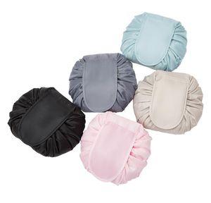 11styles Drawstring Cosmetic Bag Women Lazy Cosmetic Bags Sundry Storage Organizer Travel Makeup Pouch Toilet bbykIa xmh_home