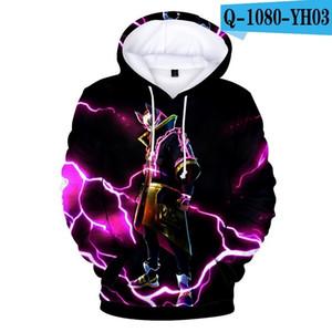 DLF pintado moletom colorido hoodies meninos inverno casual plus size hoody tops sportswear streetwear adolescentes lj201012