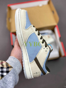 New Travis Scott x Playstation x SB Low Shoes Mens Womens Dunk Outdoor Skateboard Sport Trainer Sneakers US5.5-11