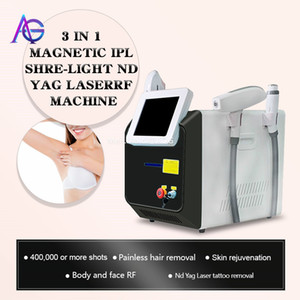 2020 multifunction ipl laser hair removal nd yag laser tattoo removal machine rf face lift elight opt shr ipl beauty machine