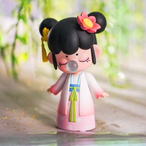 Robotime Nanci Caixa Caixa China Character Character Dolls Modelo para meninas Aniversários Presente LJ201031