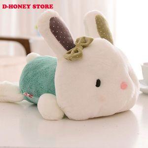 Animals Stuffed 30cm Bunny Rabbit Lovey Plush Bunny Small For Gift Wedding Toys Bowknot Girls Kids Little Oenoi