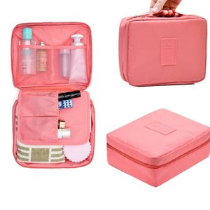 Travel Accessories Cosmetic Wash Bag Toiletry Portable Finishing Case Luggage Package Waterproof Brush Storage Box Organizer