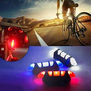 Luces de freno de bicicleta Luz trasera a prueba de agua LED USB USB RECARGABLE MONTAÑA Ciclismo Luz de seguridad Luz de advertencia Envío gratis